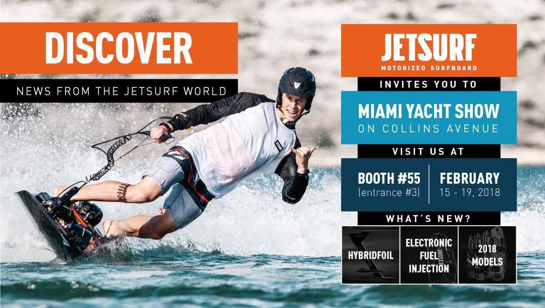 Jetsurf Miami yacht show